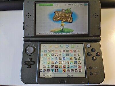 AU320 • Buy New Nintendo 3DS XL - Black - 128GB - 170+ 3DS And DS Installed Games