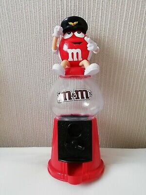 £8.95 • Buy Large 12  M&M's Red Candy Dispenser Sweet Plain Chocolate Coin Bank