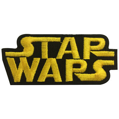 £1.99 • Buy  Star Wars Logo Patch Iron On Sew On Badge Embroidered Patch
