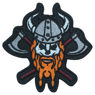 £1.99 • Buy Viking Head Orignal Logo Patch Iron On Sew On Badge Embroidered Patch