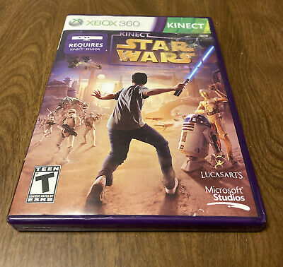 $ CDN11.28 • Buy Kinect Star Wars (Microsoft Xbox 360 Tested Complete) FUN GAME Lots Of Action