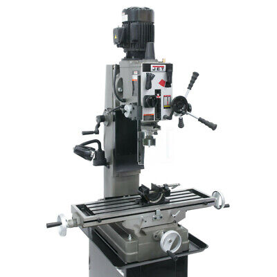 $8199 • Buy JET 351159 Column Mill Drill With Newall DP500 2-Axis DRO And X-Powerfeed New