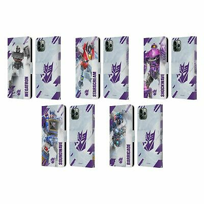 £15.17 • Buy TRANSFORMERS DECEPTICONS KEY ART LEATHER BOOK CASE FOR APPLE IPHONE PHONES