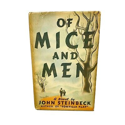 John Steinbeck / OF MICE AND MEN 1st Edition 2nd State 1937 - Hardcover - DJ • 133.23£