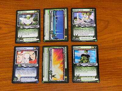 AU79.99 • Buy Dragon Ball Z DBZ CCG Cell Games Symbol Preview Set 1-6 Limited Foil