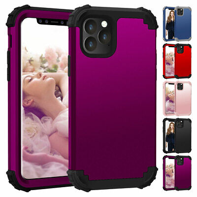 AU13.56 • Buy For IPhone 12 11 Pro Max SE 2 Xs X 8 7 Shockproof Heavy Duty 360 Full-body Case