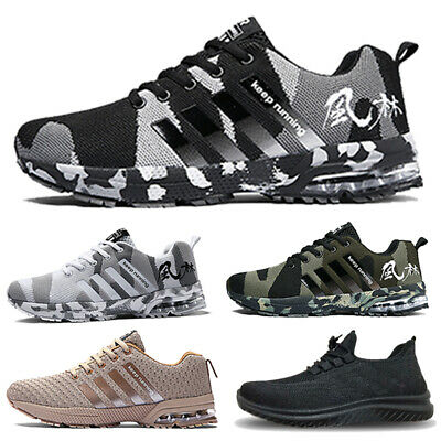 £21.49 • Buy Mens Trainers Lace Up Sports Casual Air Absorbing Running Walking Gym Shoes Size