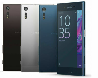 AU189.99 • Buy Sony Xperia XZ F8331 32GB Factory Unlocked 23MP Android Smartphone Black/Blue