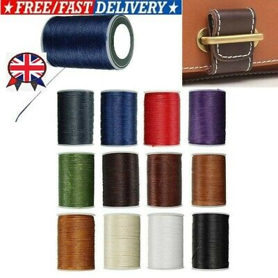 £6.28 • Buy Waxed Thread 0.8mm/78M Polyester Cord For Sewing Stitch Leather Craft Bracelet
