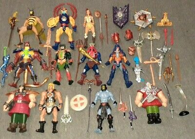 $199.99 • Buy 200x He-man Masters Of The Universe Motu Action Figure And Parts Lot General!