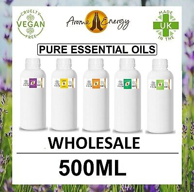 AU46.10 • Buy Essential Oils - 500ml - For Aromatherapy Pure Essential Oil Fragrance Natural