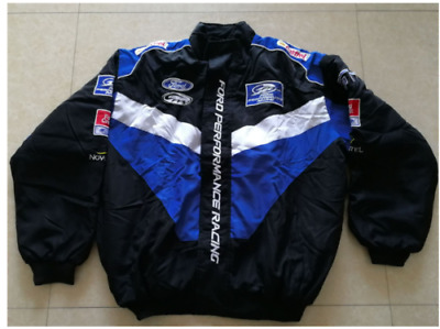 £33.99 • Buy 2020 FORD Embroidery Cotton Nascar Moto Car Team Formula1 Racing Jacket Suit