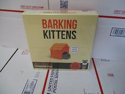 AU26.57 • Buy Barking Kittens Exploding Kittens Expansion Pack New Sealed Fast/free Shipping