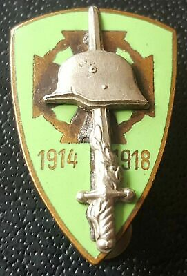 £69.99 • Buy ✚8054✚ Hungarian Kingdom National Front-Line Fighters' Association Badge WW2
