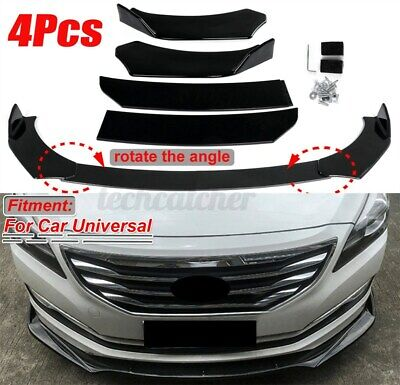 $59.99 • Buy Carbon Fiber Front Bumper Lip Spoiler Splitter For Nissan SENTRA Altima Maxima