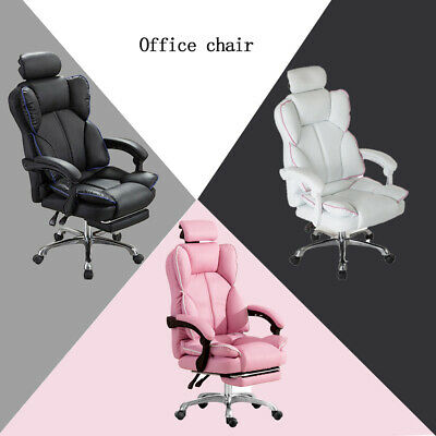 AU149.99 • Buy Gaming Chair Office Computer Seat Racing PU Leather Executive Footrest Racer