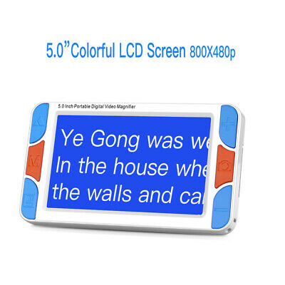 £139.80 • Buy Eyoyo 5.0 Inch Portable Electronic Video Magnifier Reading Read Tools Zoom Rates
