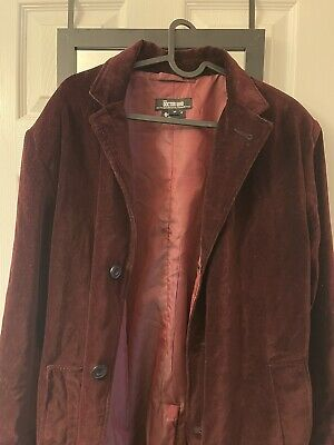 Doctor Who Abbyshot Red Velvet Cosplay Jacket Peter Capaldi 12th Doctor Coat • 120£