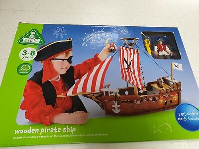 £59.75 • Buy ELC Wooden Pirate Ship Brand New & Sealed