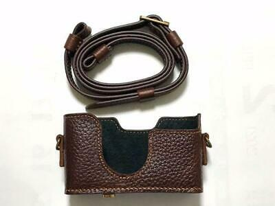 $ CDN322.64 • Buy Genuine Leather Camera Case And Strap Contax For T2