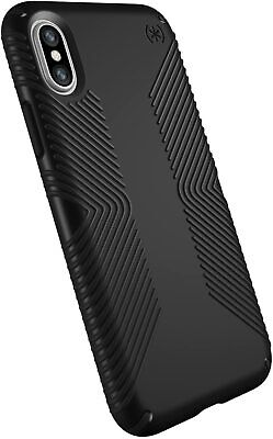 AU16.75 • Buy Speck Presidio Grip Case For IPhone XS & IPhone X - Black/Black