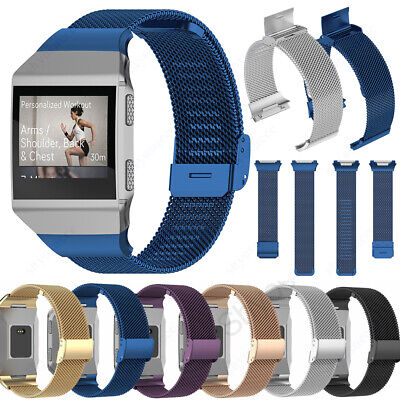 AU11.30 • Buy Straps Replacement For FitBit Charge Ionic Wrist Band Milanese Metal Wrist Bands