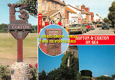 L108482 Hopton And Corton On Sea. Golden Shield. Multi View • 5.75£