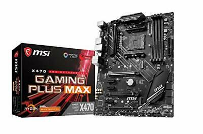 AU192.38 • Buy X470 GAMING PLUS MAX Motherboard ATX, AM4, DDR4, LAN, USB 3.2 Gen2, M.2,