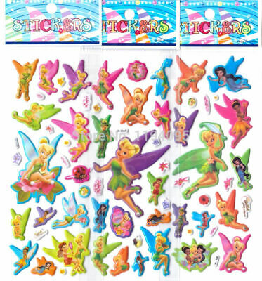£2.75 • Buy 10 X TINKERBELL Sticker Strips  Loot -party Bags Birthday - Gift - Party