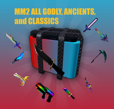 $ CDN4.94 • Buy Roblox MM2 Murder Mystery 2 ALL GODLYS/ANCIENTS/VINTAGES💖(CHEAP And FAST)💖