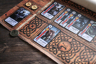 $ CDN60.48 • Buy Canvas Gwent Mat For 2 Players