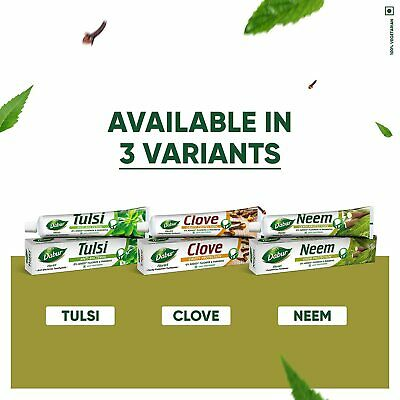 £7.85 • Buy Dabur Herb'l Neem - Germ Protection Toothpaste (Pack Of 3)