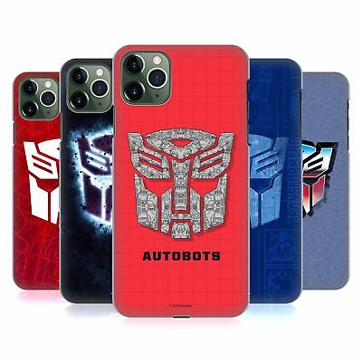 £14.56 • Buy OFFICIAL TRANSFORMERS AUTOBOTS LOGO ART HARD BACK CASE FOR APPLE IPHONE PHONES