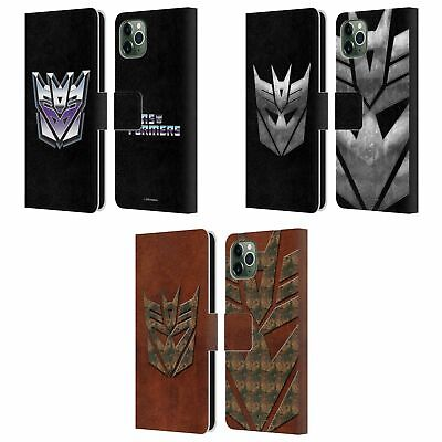 £16.72 • Buy TRANSFORMERS DECEPTICONS LOGO ART LEATHER BOOK CASE FOR APPLE IPHONE PHONES
