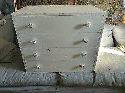 Hand Made Chest Of 4 Drawers For Up Cycling  • 10£