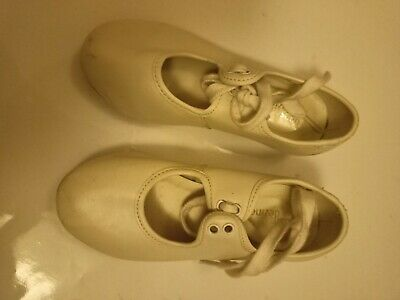 Child's White Tap Dance Shoes Size 9 • 4.99£