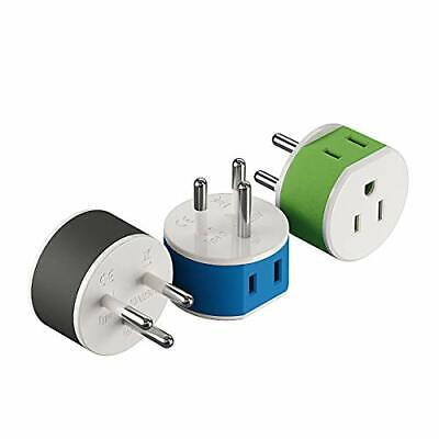 AU18.50 • Buy Thailand Power Plug Adapter By OREI With 2 USA Inputs - Travel 3 Pack - Type ...