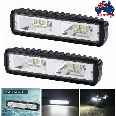 AU15.95 • Buy 6inch 18W LED WORK LIGHT OFFROAD FLOOD DRIVING BAR CAR AUTO MOTORCYCLE LAMP ATV