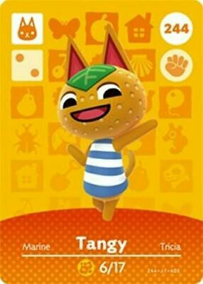 AU5.95 • Buy Animal Crossing Amiibo Card Villager Tangy
