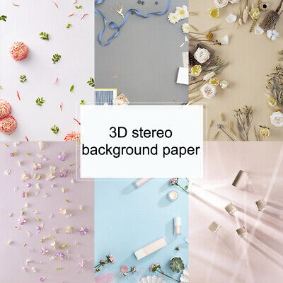 £5.50 • Buy Dual Double Sided Backdrop Paper Instagram Product Food Background Drop Photo~