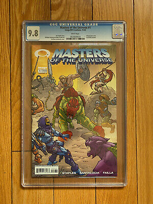 $199.99 • Buy Masters Of The Universe #1 CGC 9.8 Wraparound Cover Image/ MV Creations