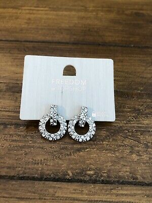 AU3.60 • Buy Topshop Sparkly Knot Earring Studs Unwanted Xmas Gift