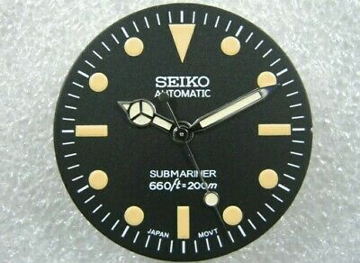 $ CDN72.67 • Buy New Seiko Vintage 5513 Submariner MOD Dial & Hands For SKX007 / SKX031 Nh35 7s26