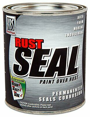 AU76.59 • Buy KBS Coatings 4402 Satin Black Rustseal -1 Quart Covers 50 Sq Ft Proven Rust P...