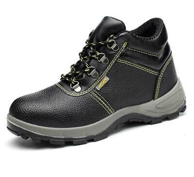 AU43.99 • Buy Men's Comfortable Safety Shoes Steel Toe Cap Boots Outdoor Work Sneakers AU