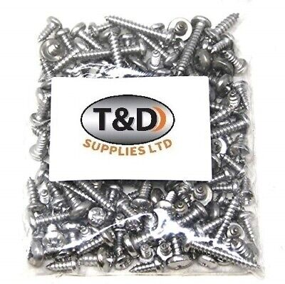 £3.90 • Buy 200g OF 'MIXED PACK' STAINLESS STEEL SCREWS POZI PAN HEAD SELF TAPPERS