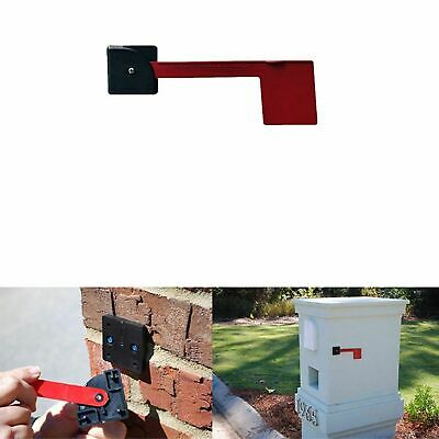 $23.27 • Buy Red Mailboxes Rust-Proof Plastic Red Mailbox Replacement Flag Kit Mailbox Flag