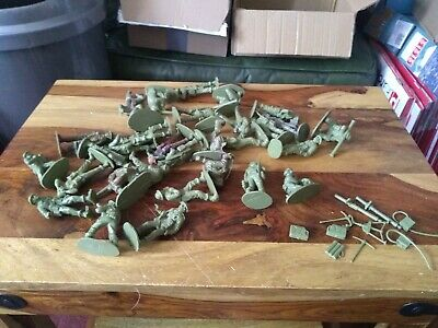 Airfix 1/32 WW2 British Support Unit Toy Soldiers & Some Accessories • 5.50£