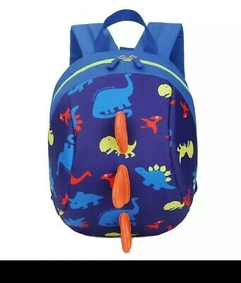 Dinosaur Safety Harness Strap Bag Backpack With Reins Brand New , Walking ,child • 10£