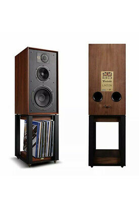 Wharfedale Linton 85 Heritage Speakers With Stands In Walnut X Display • 750£